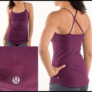 LULULEMON ATMA PLUM TANK TOP